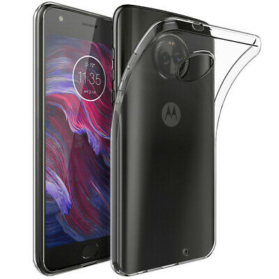 Case For Motorola Moto X4 Back Ultra Thin Crystal Clear Soft Silicone TPU Cover
