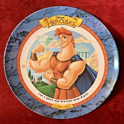 Disney HERCULES McDonalds Collector Plates 1997 COMPLETE SET of 6 Never Used New