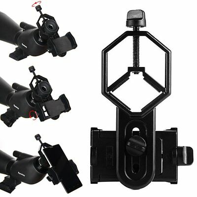Phone Adapter Holder Mount For Binocular Monocular Spotting Scope Telescope UU