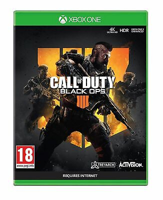 Call of Duty: Black Ops 4 (Xbox One) New & Sealed UK PAL Free UK Postage