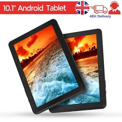 "10.1"" Inch Android HD Tablet PC 6.0 Google Quad-core Dual Camera 32GB Wifi Gift"