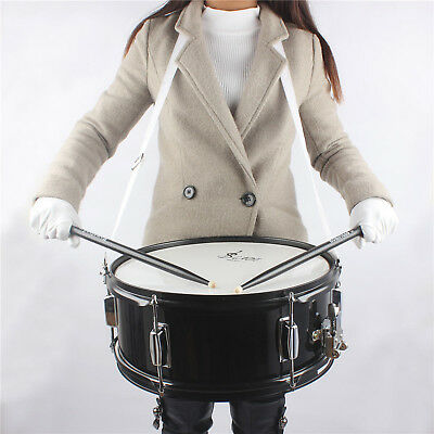 """14"""" x 6.1"""" Size Snare Drum w/2 Drumstick+Key+Maple Wood Shell Percussion Kit~AU"""