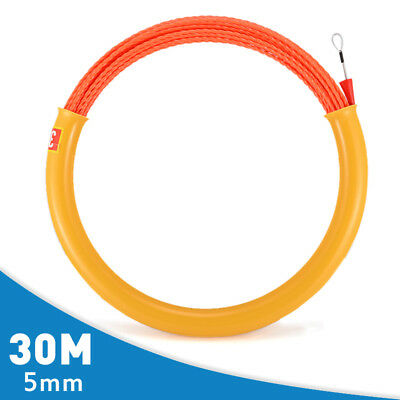 30M 5mm Cable Puller Rodder Conduit Snake Cable Installation Fish Tape