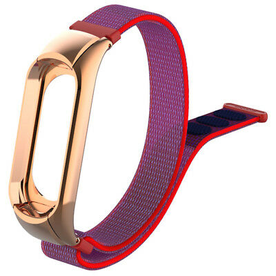 newest Fashion Durable Canvas Replacement Wrist Band Strap For Xiaomi Mi Band 3