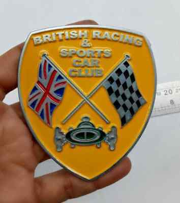 Stainless Bracket To Fit Royal Automobile Club Badge To Desmo Type Badge Bar High Quality Materials Badges & Mascots
