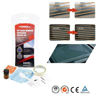DIY Rear Window Defogger Repair Kit Fix Broken Defogger Grid Lines&Tabs Tool Set
