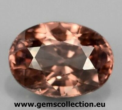 Aaa Natural Zircon - Zircone Naturale Ct 1.64 Imperial Champagne Color Oval Cut