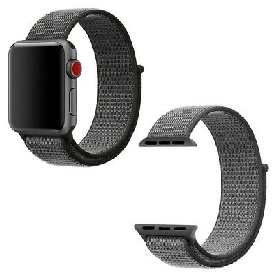 Flash Sport Loop Woven Nylon Sport Watch Band Strap For Apple Watch Series 3/2/1