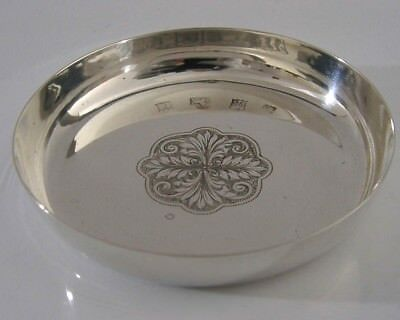 Quality English Solid Silver Dish 1975