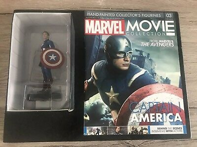 Marvel Movie Collection No: 3 Captain America With Magazine