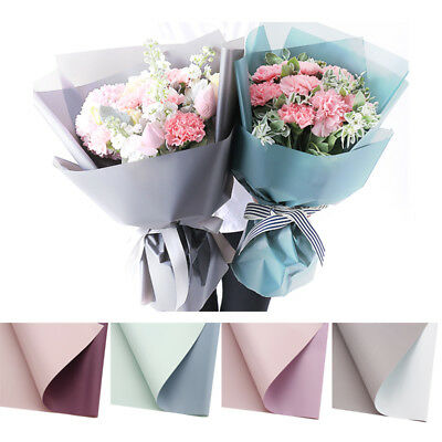 Flower packaging paper wrapping paper multi purpose durable retro plastic bouquet waterproof durable multi purpose flower wrapping paper mightylinksfo