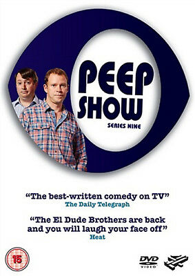 PEEP SHOW COMPLETE SERIES 9 DVD 9th Nineth Ninth Season Nine UK Release New R2