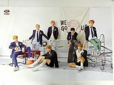 NCT Dream - We Go Up (2nd Mini Album) Official Unfolded Poster New