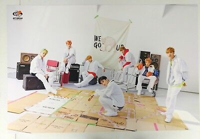 NCT Dream - We Go Up 2nd Mini pre-order Official Unfolded Poster New