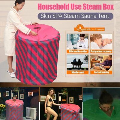 Portable Steam Sauna portatil Fold Indoor Spa Detox Loss Weight Slimming home BU
