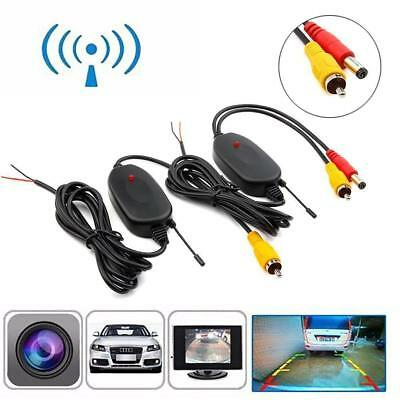 2.4G Wireless Video Cable for Car Backup Camera to GPS Tablet Aux 2.5mm AV-IN