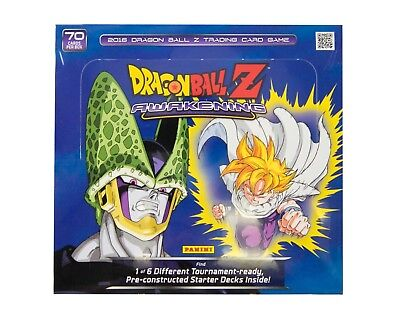 DRAGON BALL Z Panini Dragon Ball Z: Awakening Starter Deck Box x 10