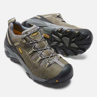 Keen Men's 1007013 Detroit Low ESD Soft Toe Work Hiking Shoes
