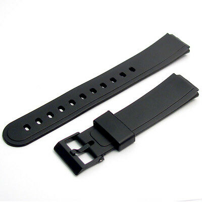 Watch Strap/Band 15mm for Casio AW30 AW33 AW34 AW35 AW35 AW43 AW51k, Resin 280P4