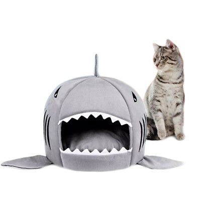 Removable Cushion Shark Shape Dogs Nest Pet nest Washable Dog house Dog Cat Bed