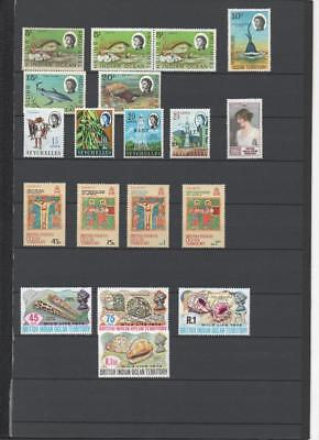 British Indian Ocean Territory Collection On 3 Pages