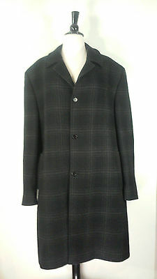 Luxury Collection Cardinal of Canada 100% New Zealand Meriono Wool Over Coat 44R