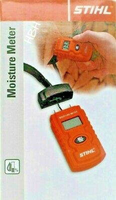 Stihl Moisture Meter Humidity Tester Damp Detector Logs Timber Cement Paper Wood