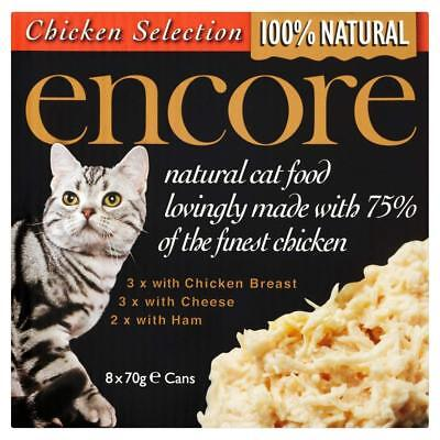 Encore Cat Food - Chicken Breast Multipack (Can) (70g x 8)