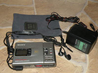 Sony MD Walkman MZ-R30 Portabler Mini Disc Rekorder / Player