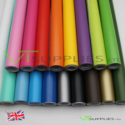 Matt Car Vinyl Wrap [Air Channel Film] All Colours & Sizes Available