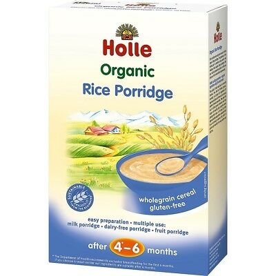 Holle Organic Baby Porridges - Rice Porridge - Single Carton, 250g