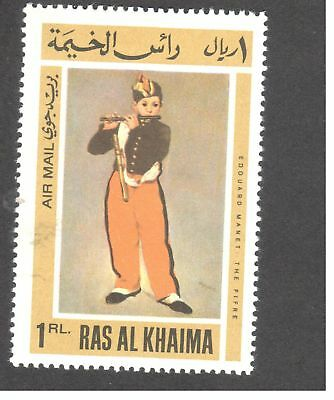Asie - Emirats Arabes Unis - Ras al-Khaima - The piper (1866), by Edouard Manet