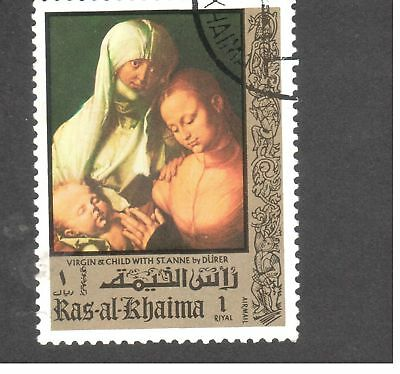 Asie - Emirats Arabes Unis - Ras al-Khaima - Virgin & Child with St. Anne