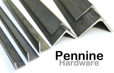 MILD STEEL ANGLE Iron All Popular Sizes Available & Bandsaw Cut sizes to order