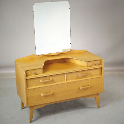 G Plan EG Dressing Chest with Mirror Oak Retro Mid Century (delivery available)