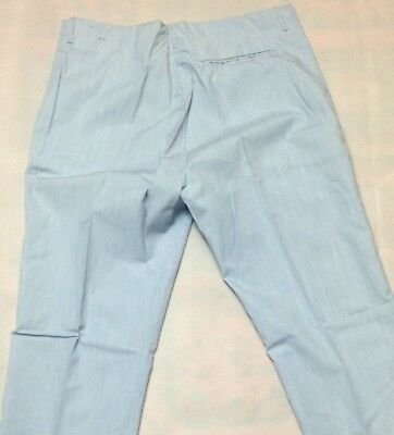 Trouser Baby Blue Vintage Boys / Mens 1970's Leisure Pant Clothing Golf Light