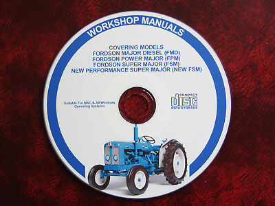 Fordson Super / Power /  Major Workshop Service Repair Manual