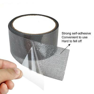 Prevents Intruding Insects Screen Repair Kit -2 Roll (Black/Gray)