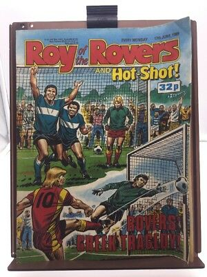 Roy of the Rovers Comic 17th June 1989