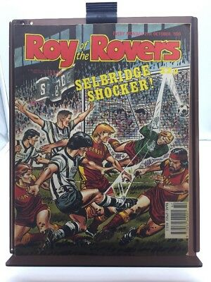 Roy of the Rovers Comic 21st October 1989