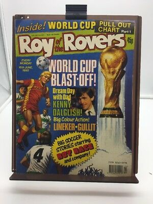 Roy of the Rovers Comic 16th June 1990