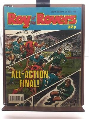 Roy of the Rovers Comic 5th May 1990
