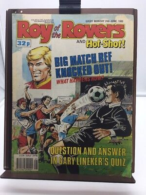 Roy of the Rovers Comic 24th June 1989