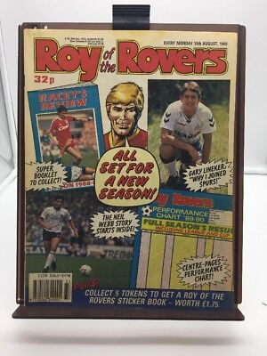 Roy of the Rovers Comic 19th August 1989