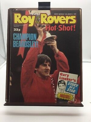 Roy of the Rovers Comic 18th March 1989