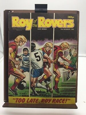 Roy of the Rovers Comic 10th December 1988
