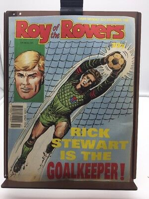 Roy of the Rovers Comic 23rd December 1989