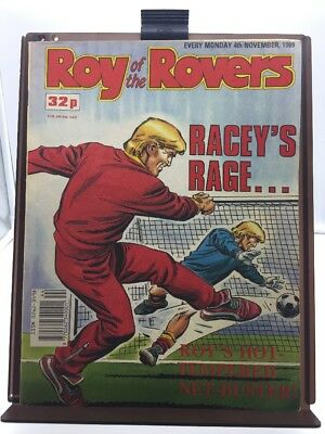 Roy of the Rovers Comic 4th November 1989