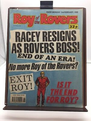 Roy of the Rovers Comic 3rd February 1990