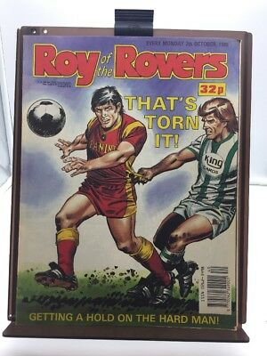 Roy of the Rovers Comic 7th October 1989